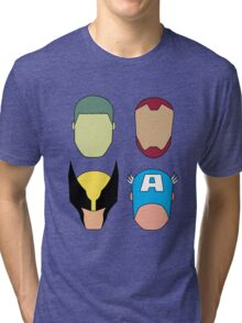 Super Heroes Tri-blend T-Shirt