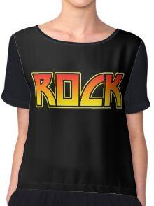 Rock Chiffon Top