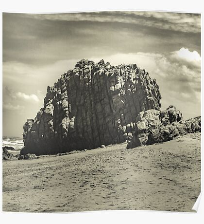 Big Rock at Praia Malhada Jericoacoara Brazil Poster