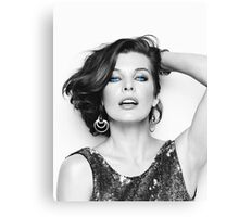 Mrs. Jovovich 2 Canvas Print