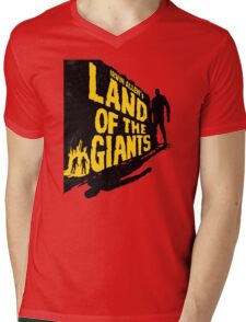 Land of the Giants Mens V-Neck T-Shirt