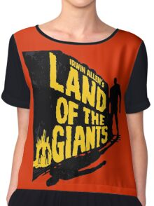 Land of the Giants Chiffon Top