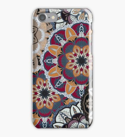Vintage decorative elements. Hand drawn background. Islam, Arabic, Indian, ottoman motifs. Perfect for printing on fabric or paper. iPhone Case/Skin