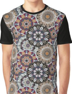 Vintage decorative elements. Hand drawn background. Islam, Arabic, Indian, ottoman motifs. Perfect for printing on fabric or paper. Graphic T-Shirt