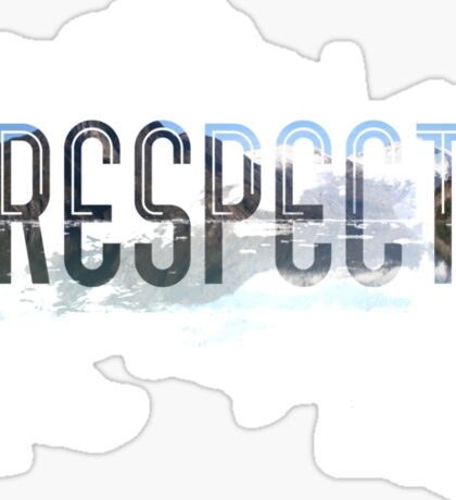 RESPECT Nature Sticker