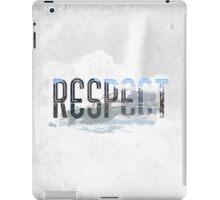 RESPECT Nature iPad Case/Skin