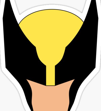Wolverine Marvel Super Hero Sticker