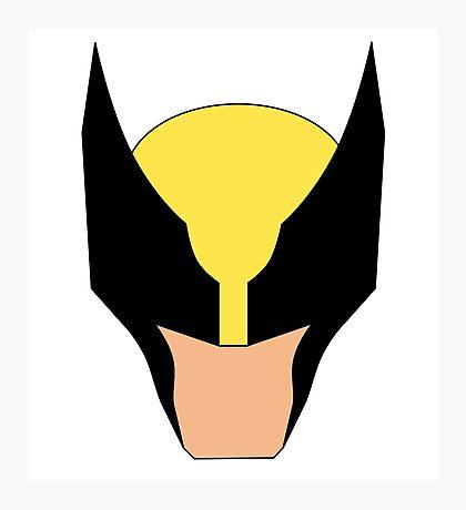 Wolverine Marvel Super Hero Photographic Print