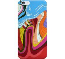 Colour Field Tsunami iPhone Case/Skin