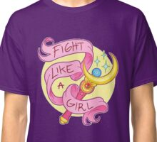 Sailor Moon - Fight like a girl! Classic T-Shirt