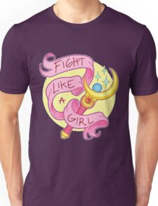 Sailor Moon - Fight like a girl! Unisex T-Shirt