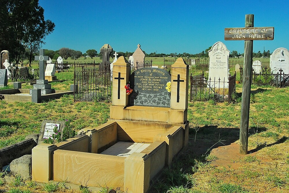 Jack Howe's Grave by Penny Smith