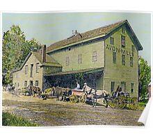 Wadsworth Mill - Avon NY, 1910 Poster