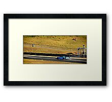 RE Amemiya Mazda RX7 at WTAC Framed Print