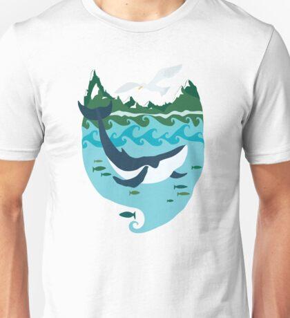 Whale tale Unisex T-Shirt