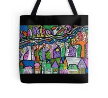 Leaf River Tree Town - Kerry Beazley Tote Bag
