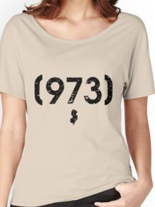 Area Code 973 New Jersey Women's Relaxed Fit T-Shirt