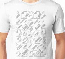 Pencil a background Unisex T-Shirt