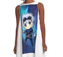 Chibi Ezreal A-Line Dress