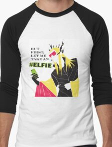 #Elfie Men's Baseball ¾ T-Shirt