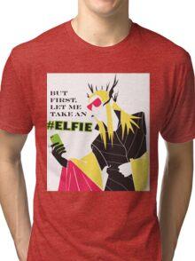 #Elfie Tri-blend T-Shirt