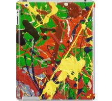 COLORFUL ABSTRACT POPART DESIGN - SPIRALS 2 iPad Case/Skin
