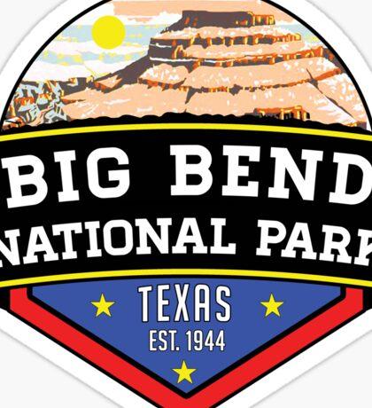 BIG BEND NATIONAL PARK TEXAS Chihuahuan Desert MOUNTAIN Chisos Mountains Sticker