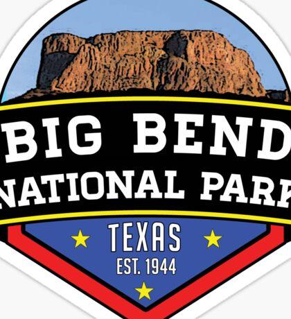 BIG BEND NATIONAL PARK TEXAS Chihuahuan Desert MOUNTAIN Chisos Mountains 3 Sticker