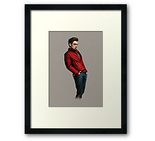JAMES DEAN - Rebel without a cause Framed Print