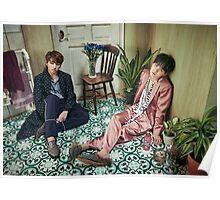 BTS WINGS Suga & Jungkook Poster