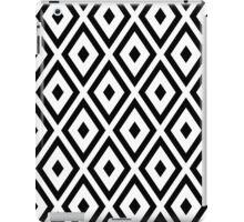 Black & White Diamonds iPad Case/Skin