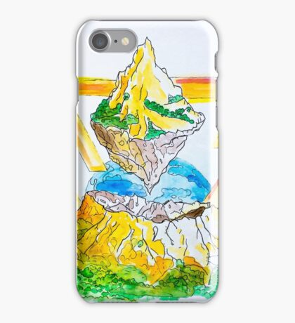 The Flying Mountain iPhone Case/Skin