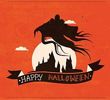 Dementor - HP Halloween Card by Risa Rodil
