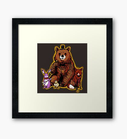 Five Nights in the Forest Framed Print