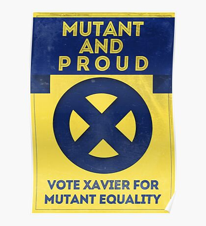 Mutant and proud campaign  Poster