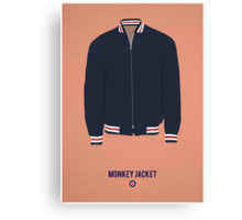 Monkey Jacket Canvas Print