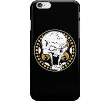 Gold Revolver Skull iPhone Case/Skin