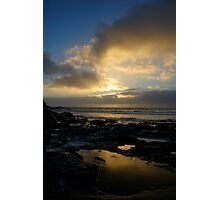 Sunset at Poldhu Photographic Print
