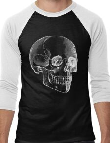 Skull Men's Baseball ¾ T-Shirt