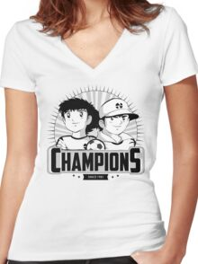 Champions Women's Fitted V-Neck T-Shirt