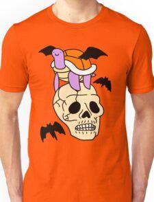 Spooky Skull Turtle Unisex T-Shirt
