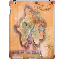 Twin Size Neverland Map iPad Case/Skin