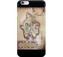 Twin size Classic Neverland Map iPhone Case/Skin