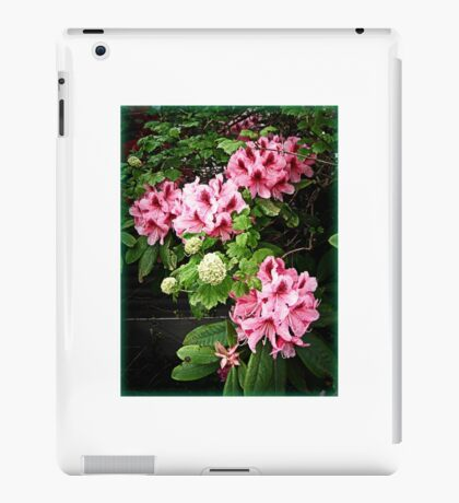 Rhododendron Tour Two iPad Case/Skin