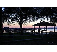 April Twilight in Florida Photographic Print