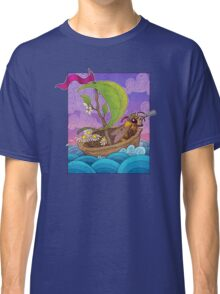 Honeybee Explorer and Walnut Ship Classic T-Shirt