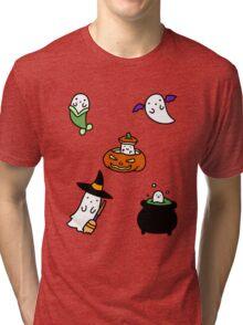 Ghosts! Tri-blend T-Shirt
