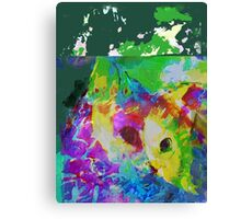 Communing with nature vertical view Canvas Print