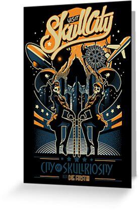 Skullcity by bogielicious