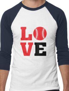 Baseball Love Men's Baseball ¾ T-Shirt